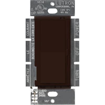 Diva 1.5 Amp Single-Pole/3-Way 3-Speed Fan Control, Brown