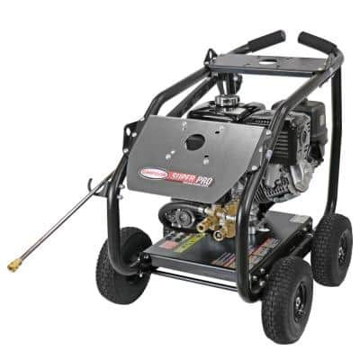 Super Pro Roll-Cage 4400 PSI at 4.0 GPM HONDA GX390 Cold Water Gas Pressure Washer