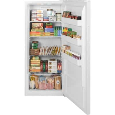 21.3 cu. ft. Frost Free Upright Freezer in White