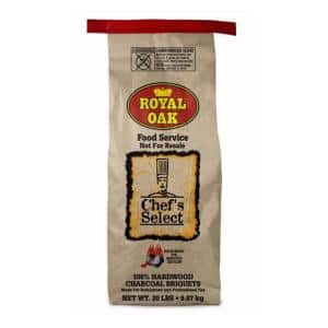 20 lbs. Chef's Select Premium Hardwood Charcoal Briquettes