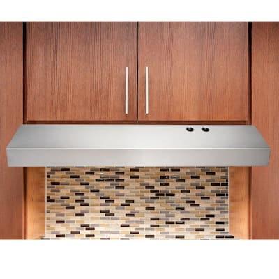 36 in. Under Cabinet Convertible Range Hood in Stainless Steel