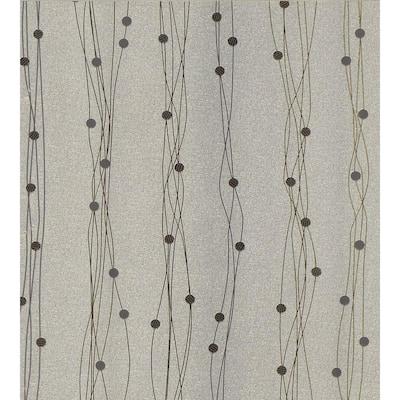 Simple Space Contempory Stripe Wallpaper Sample