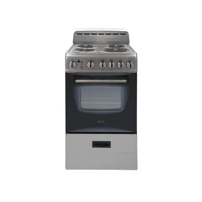 20 in. 2.1 cu. ft. Single Oven Electric Range in Stainless Steel