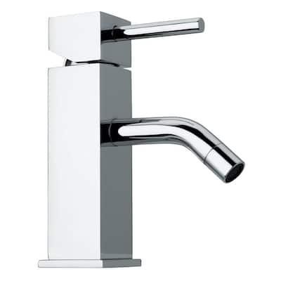 Axia Single Hole Single-Handle Bathroom Faucet in Chrome