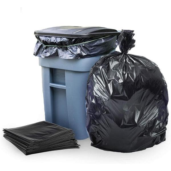 33 Gallon Strong Large Trash Bags Pack of 1 48 Count
