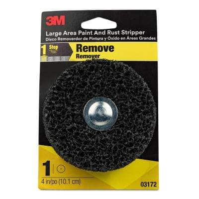 4 in. Round Rust and Paint Remover
