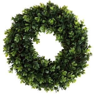 12 in. Artificial Boxwood Wreath