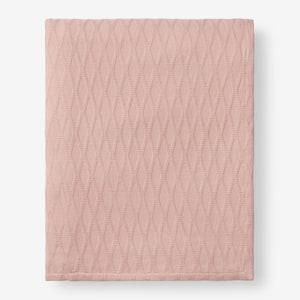 Cotton Bamboo Shell King Woven Blanket