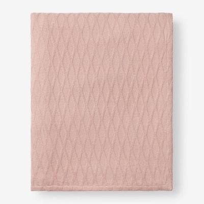 Cotton Bamboo Shell Queen Woven Blanket