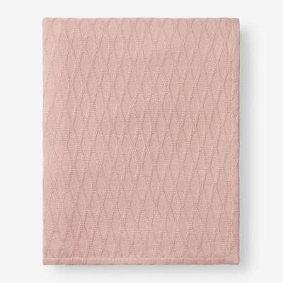 Cotton Bamboo Shell Twin Woven Blanket