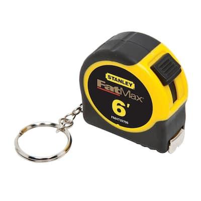 FATMAX 6 ft. x 1/2 in. Keychain Pocket Tape Measure