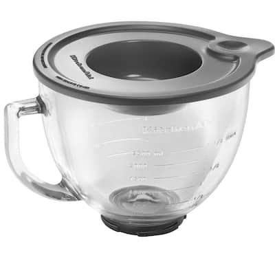 5 qt. Glass Bowl for Tilt-Head Stand Mixers