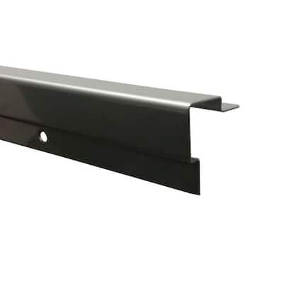 48 in. Standard Stair Nosing in Stainless Steel