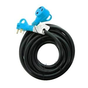 25 ft. 10/3 30 Amp Hook-Up Cord with Pull-Out Handles