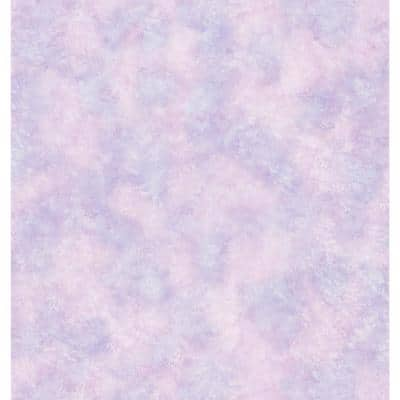 Faye Purple Texture Vinyl Peelable Roll Wallpaper (Covers 56.4 sq. ft.)
