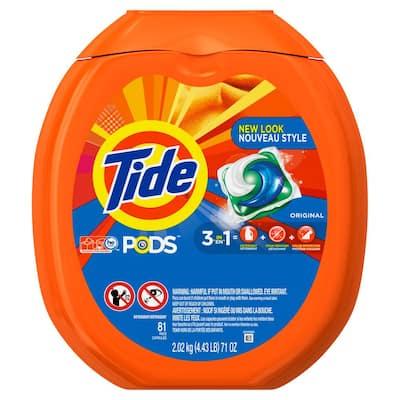 Original Scent Laundry Detergent Pods (2-Pack, 81-Count)