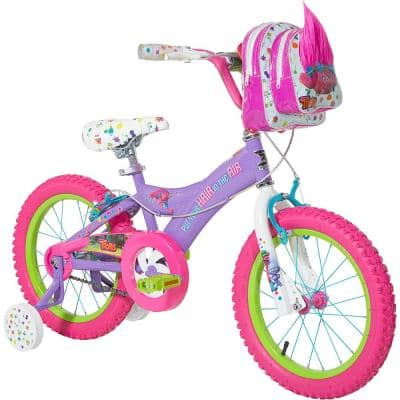 16 in. Girls Bike DreamWorks Troll Poppy