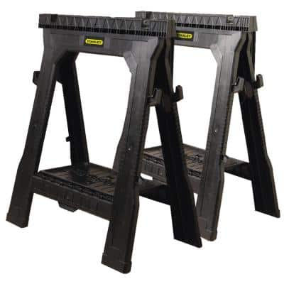 31 in. Folding Sawhorse (2-Pack)