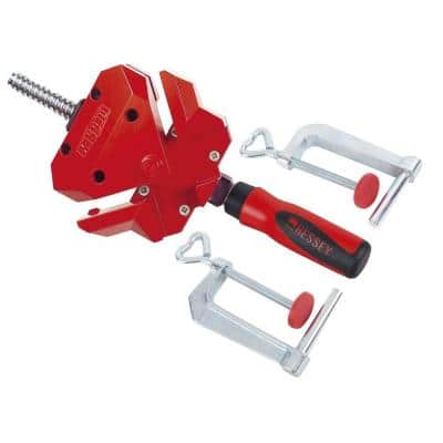 2 in. Capacity 90-Degree Angle Clamp with 1-1/8 in. Throat Depth