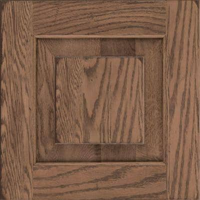 Dillon 14 5/8 x 14 5/8 in. Cabinet Door Sample in Distressed Husk
