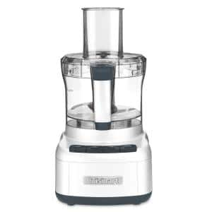 Elemental 8-Cup 3-Speed White Food Processor