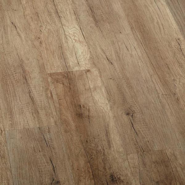 Lifeproof Embossed Greystone Oak Water, Water Resistant Laminate Flooring
