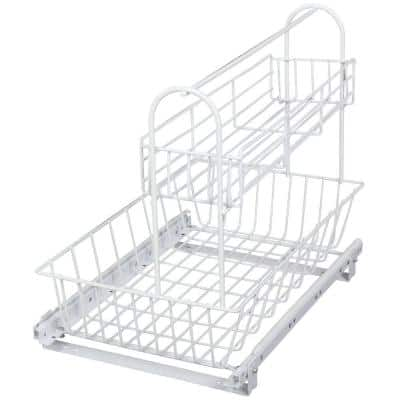 15.44 in. x 15.13 in. x 18.75 in. Multi-Use Basket with Handle Accessory Basket