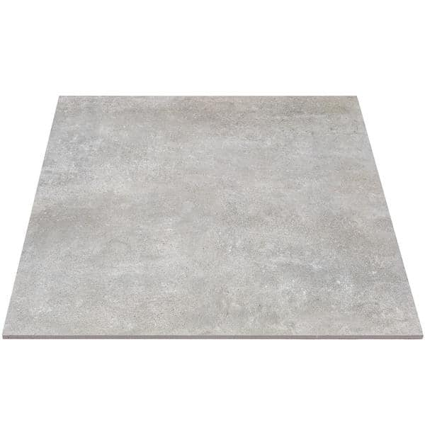 Ivy Hill Tile Malaga Greige 24 In X 24 In X 9 5 Mm Matte Porcelain Floor And Wall Tile 4 Pieces 15 49 Sq Ft Box Ext3rd101188 The Home Depot