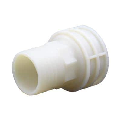 2 in. Barb x 2 in. FIP Nylon Adapter Fitting