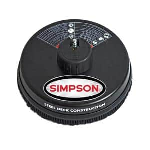 Simpson 15 in. Surface Cleaner Rated up to 3700 PSI Deals