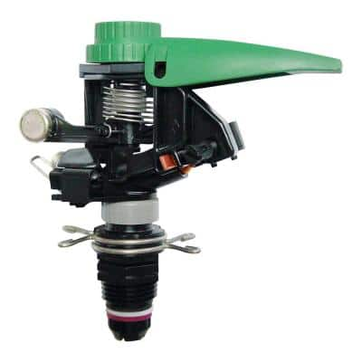 Professional Grade Riser-Mounted Impact Sprinkler