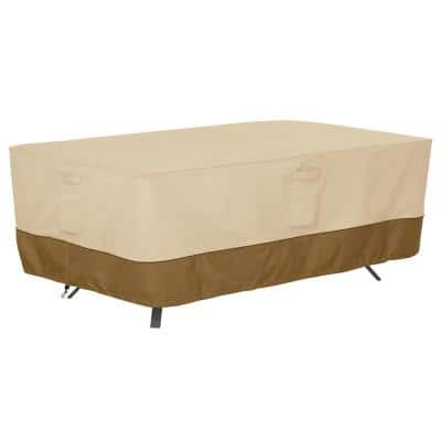 Veranda 96 in. L x 44 in. W x 23 in. H Patio Rectangle/Oval Table Cover