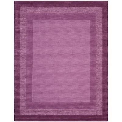 Safavieh Impressions Fuchsia Purple 5 Ft X 8 Ft Area Rug Im821a 5 The Home Depot