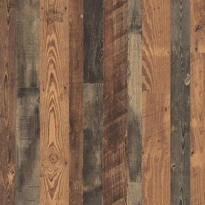 4 ft. x 8 ft. Laminate Sheet in Antique Bourbon Pine Premium SoftGrain