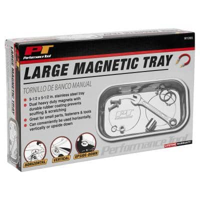 Large Magnetic Nut and Bolt Tray