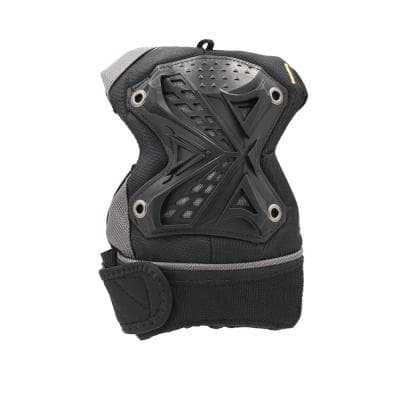 GelDOME Multi-Purpose All Terrain Hard Cap Gel Padded Knee Pads with Mesh Lining and Hook and Loop Closure