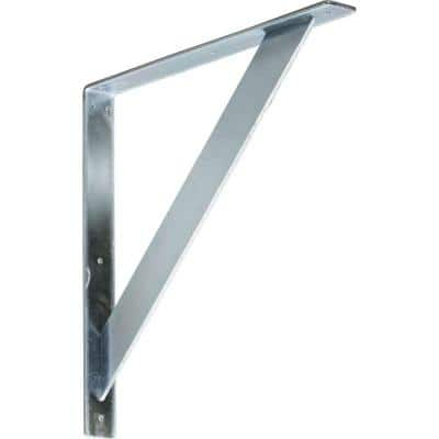 18 in. x 2 in. x 18 in. Steel Unfinished Metal Traditional Bracket