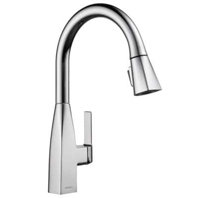Xander Single-Handle Pull-Down Sprayer Kitchen Faucet in Chrome