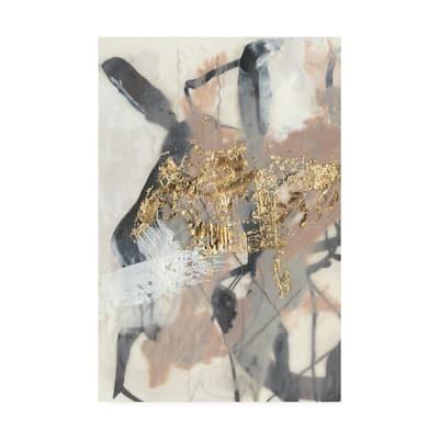 32 in. x 22 in. Golden Blush I by Jennifer Goldberger