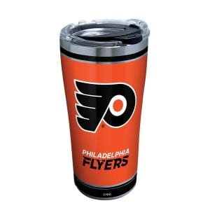 NHL Philadelphia Flyers Shootout 20 oz. Stainless Steel Tumbler with Lid