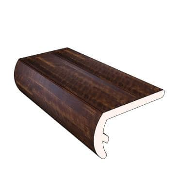 Kilauea 1.16 in. Thick x 2.07 in. Wide x 72.05 in. Length Vinyl Stair Nose Molding
