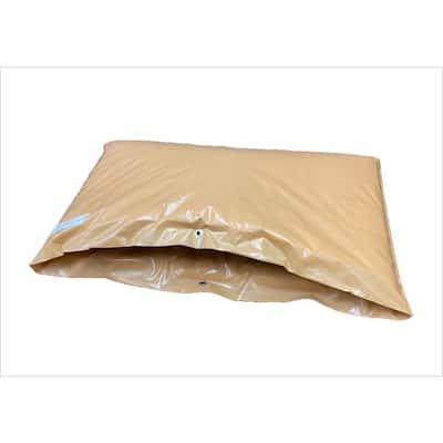 48 in. L x 24 in. H Small Fiberglass Encapsulated Tan Plastic Insulation Pouch