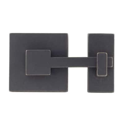 Rhombus 1 in. Oil-Rubbed Bronze Square Latch