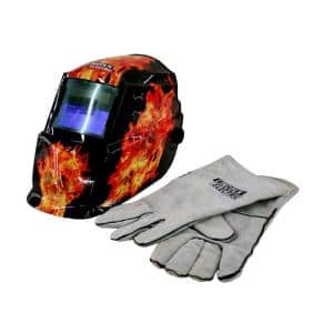 3-7/8 in. x 1-3/4 in. 9-13 Shade Welding Helmet