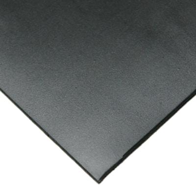 Neoprene 1/4 in. x 24 in. x 12 in. Commercial Grade 45A Soft Rubber Sheet Rolls