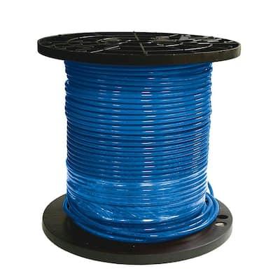 500 ft. 8 Blue Stranded CU SIMpull THHN Wire