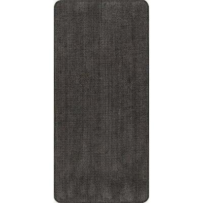 Casual Solid Anti Fatigue Kitchen or Laundry Room Dark Brown 20 in. x 42 in. Indoor Comfort Mat