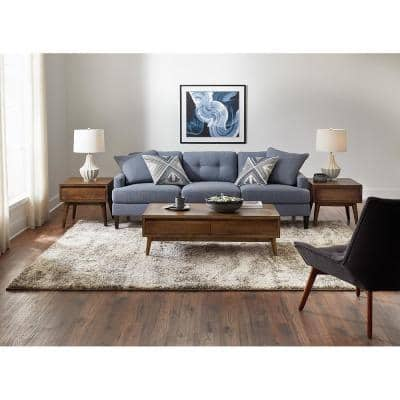 Stormy Gray 10 ft. x 12 ft. Abstract Area Rug
