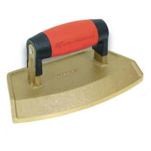 18'' Dia 3/4 in. Lip Bronze Chamfer Tube Edger with Soft Grip Handle
