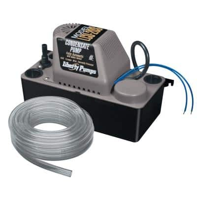 LCU 115-Volt Condensate Removal Pump with Safety Switch and Tube